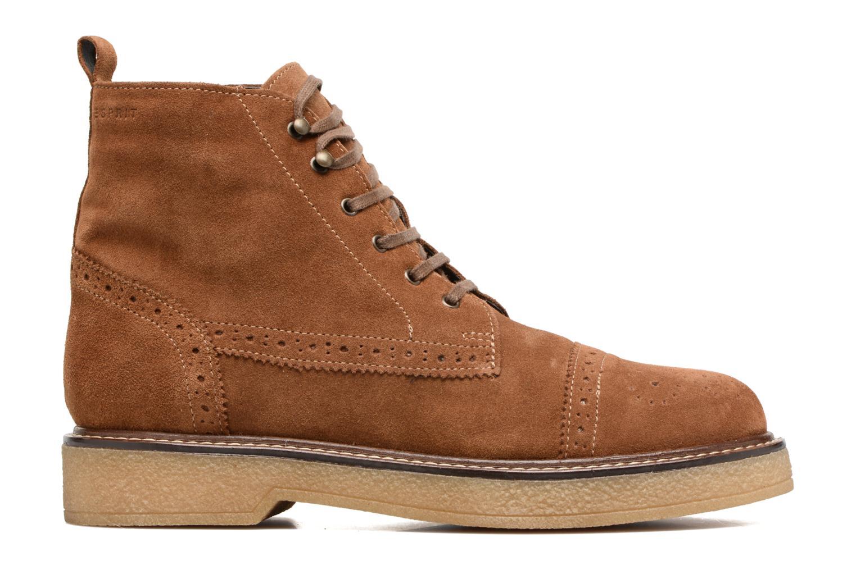 Ankle boots Esprit JONE LOU Brown back view