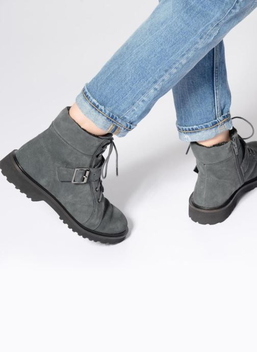 Ankle boots Esprit MEGEE BUCKLE BOOTIE Grey view from underneath / model view