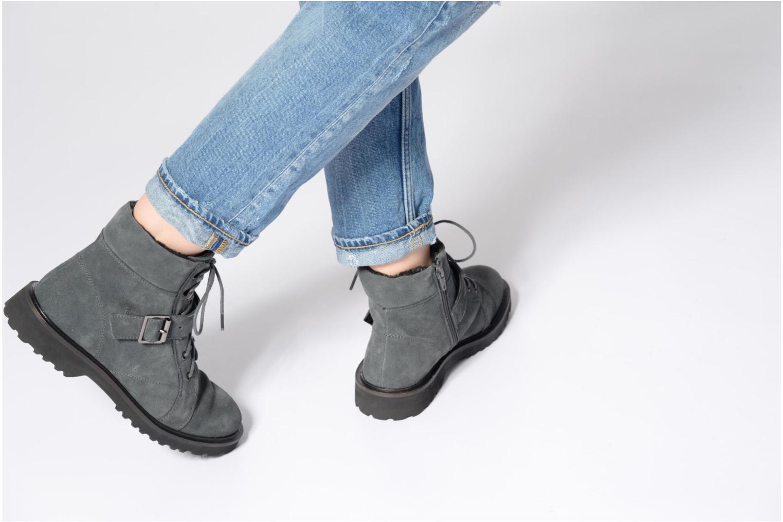 Boots en enkellaarsjes Esprit MEGEE BUCKLE BOOTIE Grijs onder