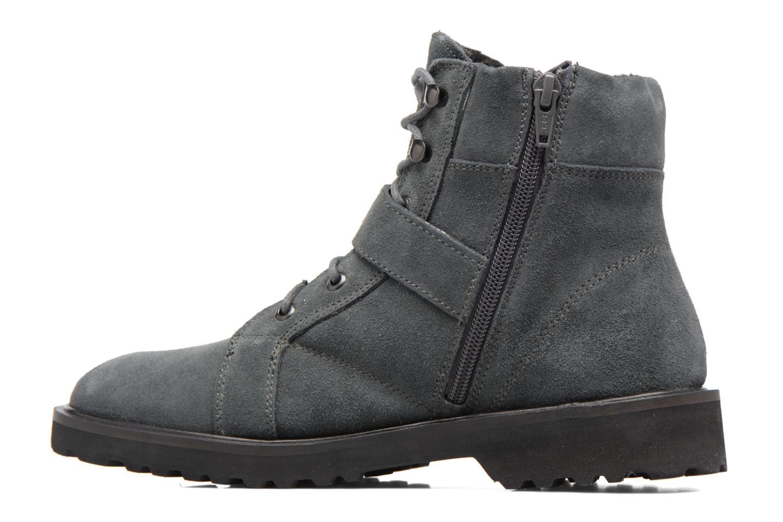 Boots en enkellaarsjes Esprit MEGEE BUCKLE BOOTIE Grijs voorkant