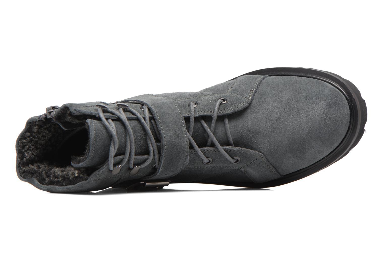 Boots en enkellaarsjes Esprit MEGEE BUCKLE BOOTIE Grijs links