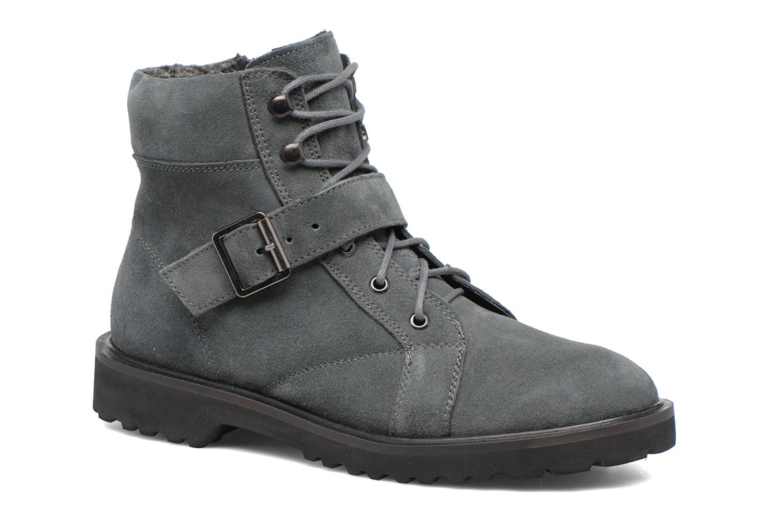 Boots en enkellaarsjes Esprit MEGEE BUCKLE BOOTIE Grijs detail