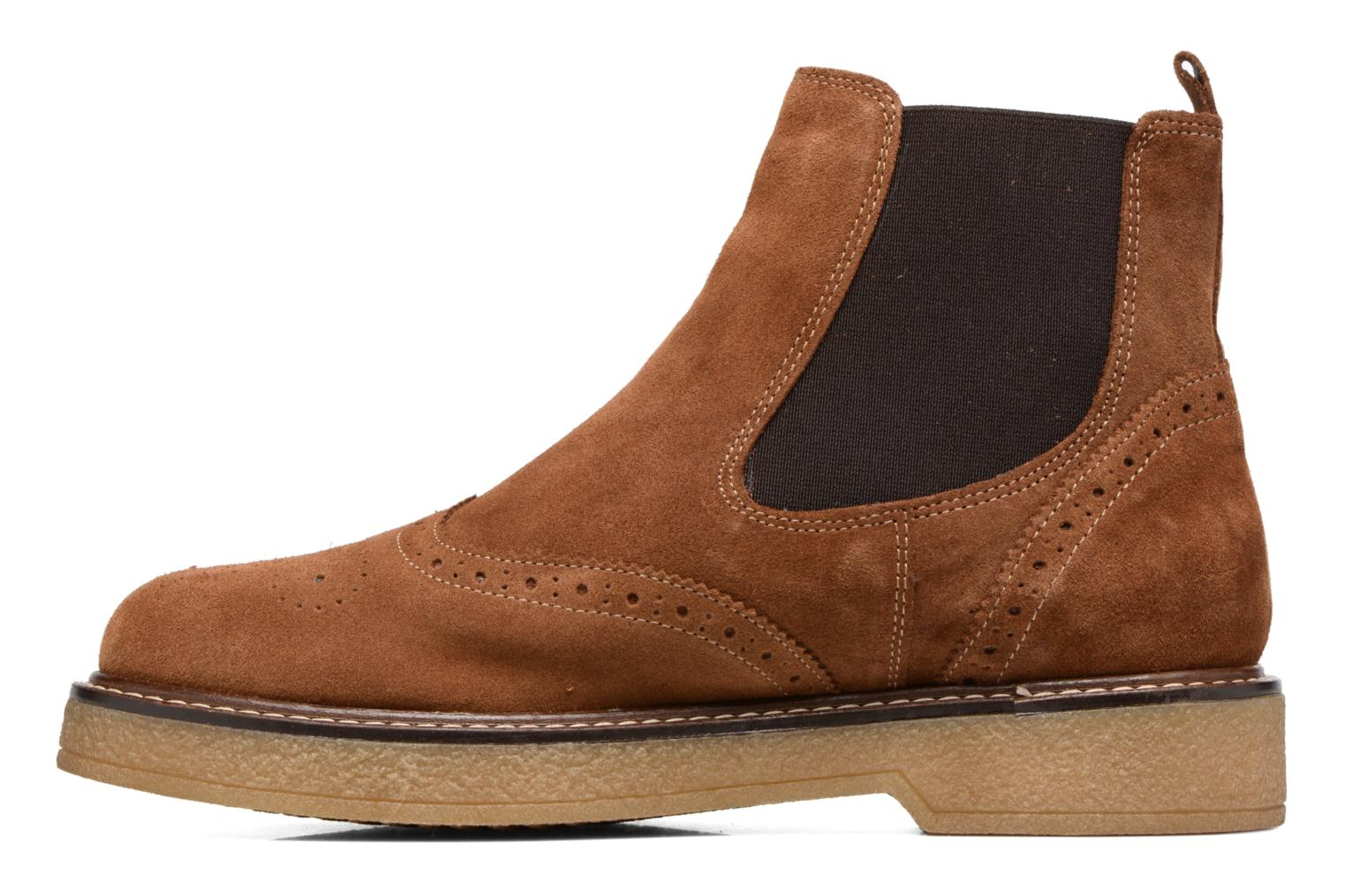 Ankle boots Esprit JONE TG BOOTIE Brown front view