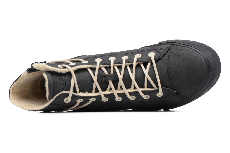 Sneaker Esprit SIMONA BOOTIE schwarz ansicht von links