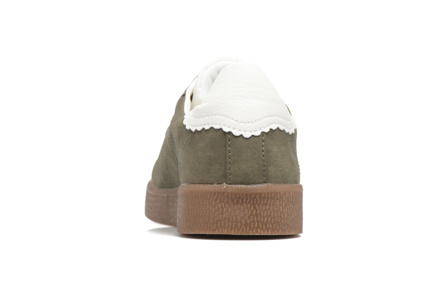 Trainers Esprit GWENETH Green view from the right