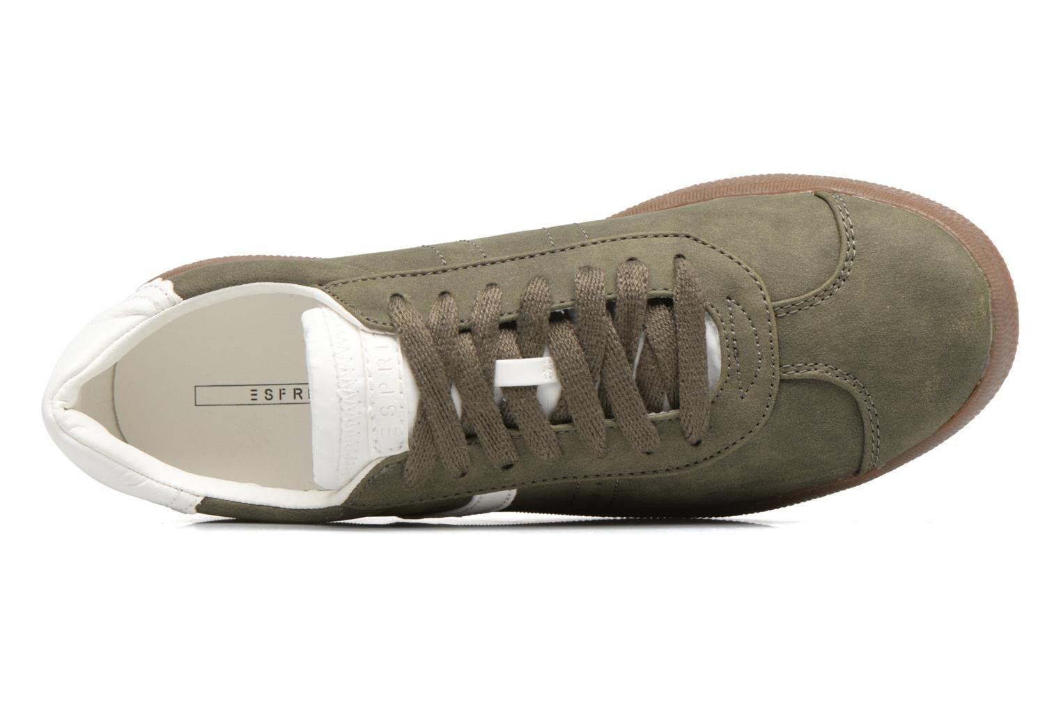 Trainers Esprit GWENETH Green view from the left