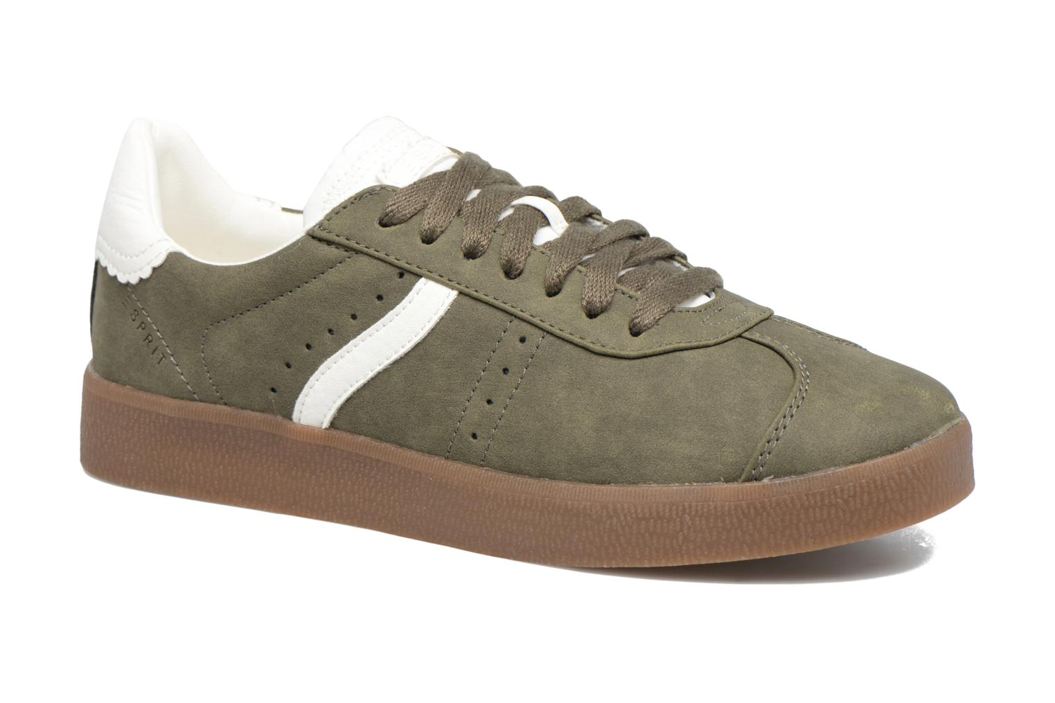Trainers Esprit GWENETH Green detailed view/ Pair view