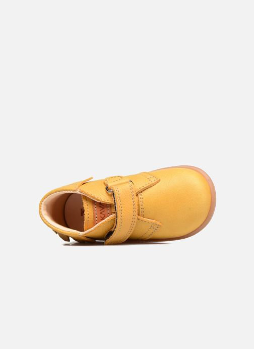 Botines  Kavat Tinka EP Amarillo vista lateral izquierda