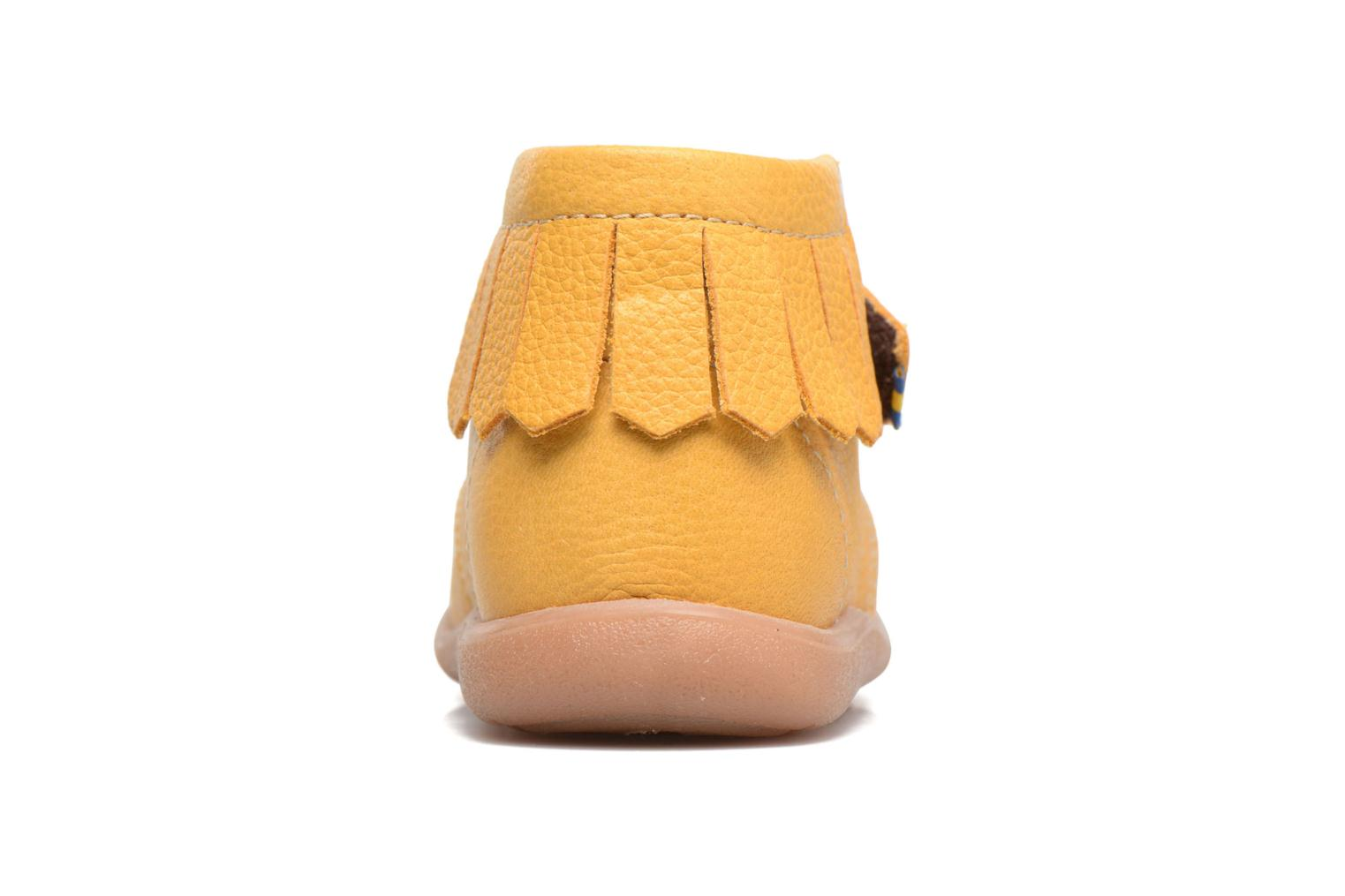 Ankle boots Kavat Tinka EP Yellow view from the right