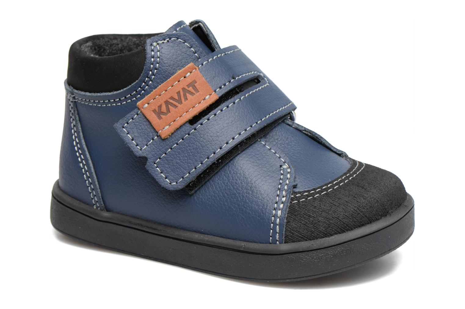 Ankle boots Kavat Fiskeby XCF Blue detailed view/ Pair view