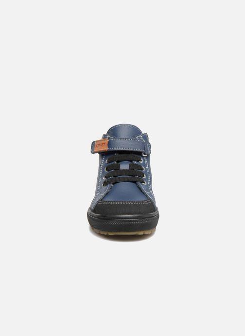 Baskets Kavat Vasterby XC Bleu vue portées chaussures