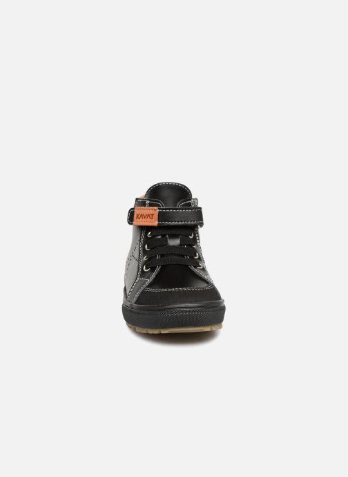 Baskets Kavat Vasterby XC Noir vue portées chaussures