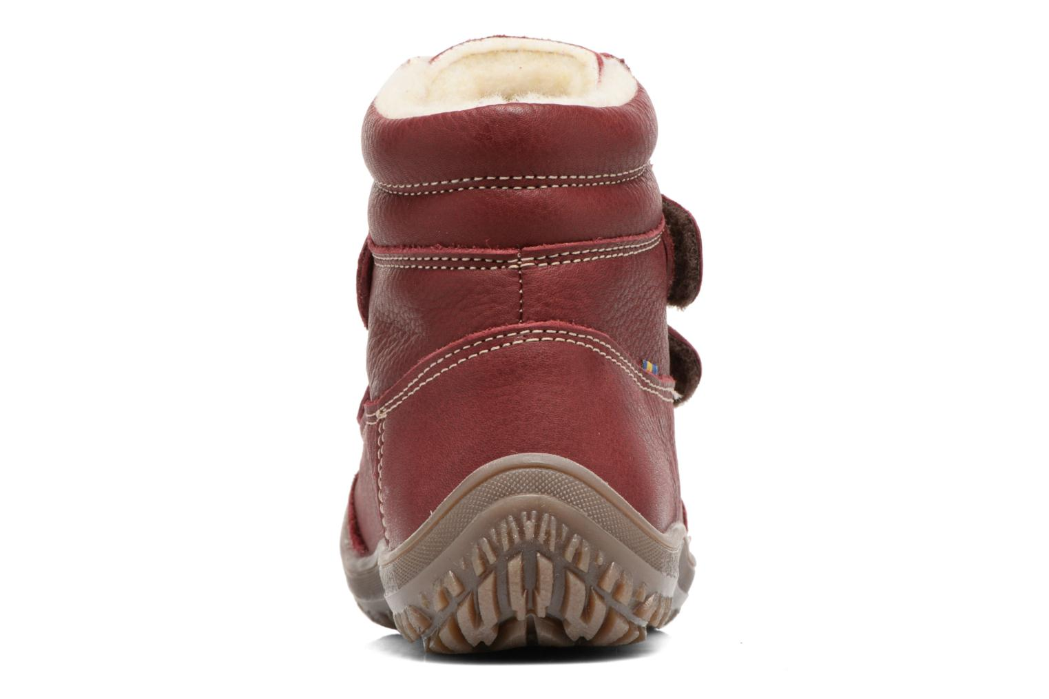 Ankle boots Kavat Oden EP Red view from the right