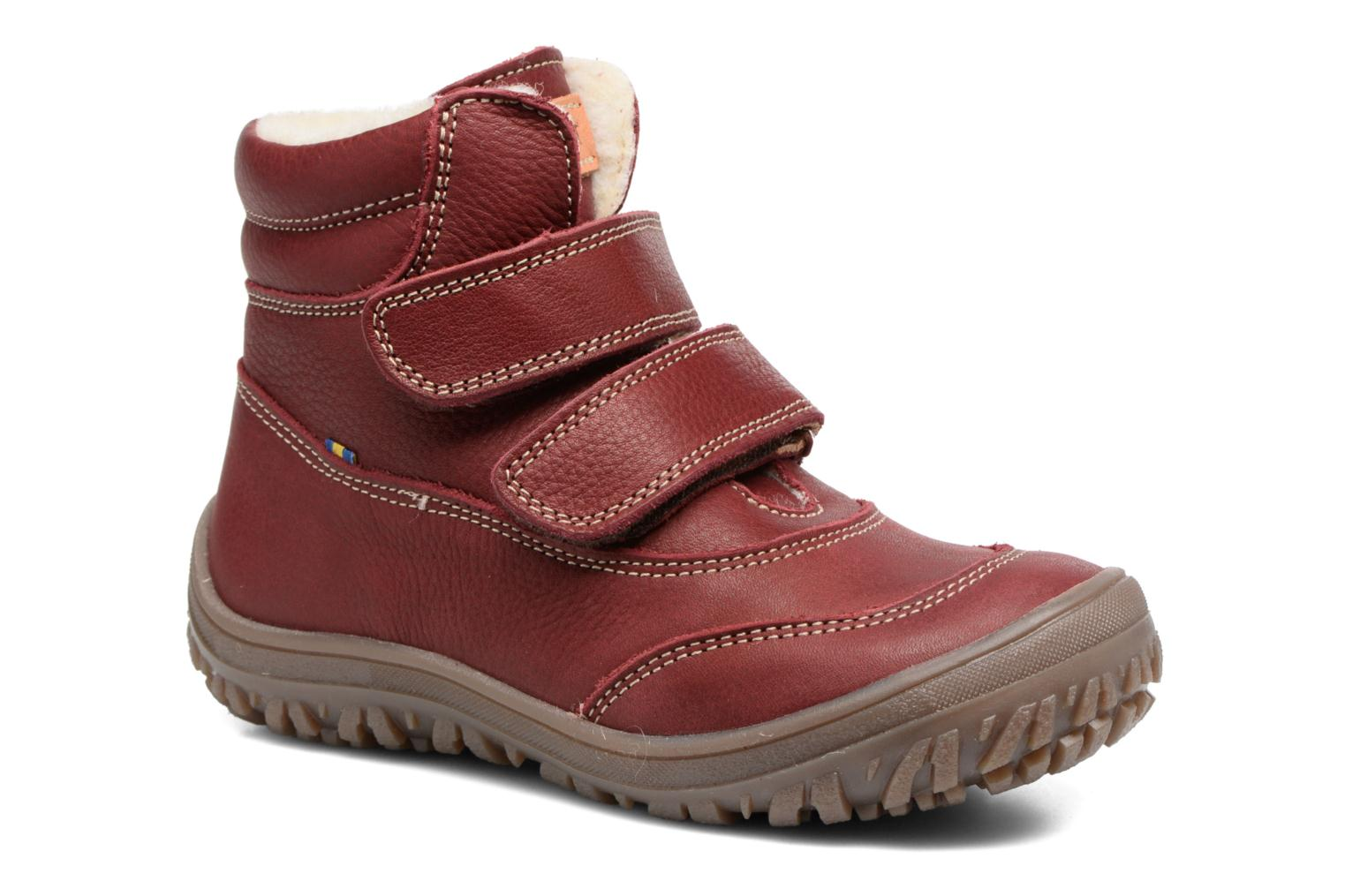 Ankle boots Kavat Oden EP Red detailed view/ Pair view