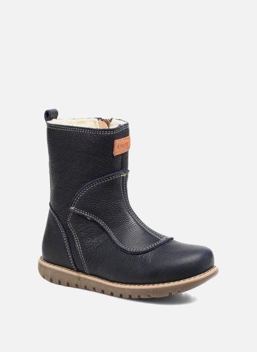 481673260fb Støvler & gummistøvler Kavat Norberg EP Blå detaljeret billede af skoene