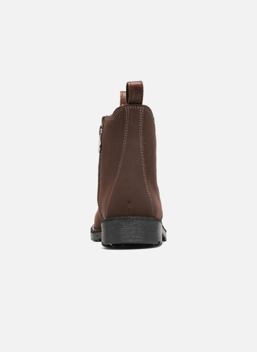 Ankle boots Kavat Husum XC Brown view from the right