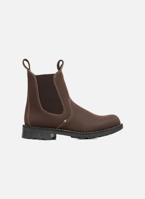 Ankle boots Kavat Husum XC Brown back view