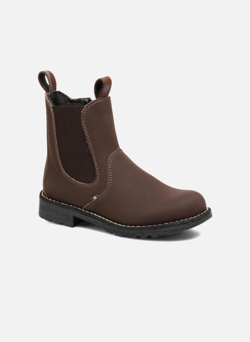 Ankle boots Kavat Husum XC Brown detailed view/ Pair view