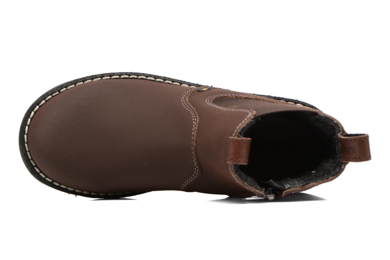 Bottines et boots Kavat Husum XC Marron vue gauche