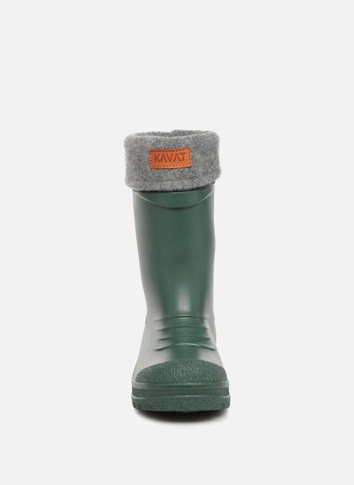 Stiefel Kavat Gimo WP grün schuhe getragen