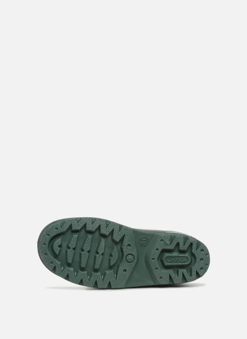 Stiefel Kavat Gimo WP grün ansicht von oben