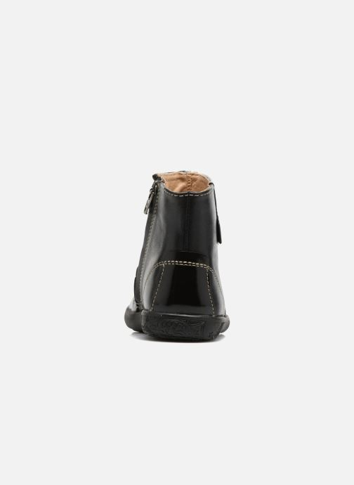 Bottines et boots Noël Mini Amra Noir vue droite