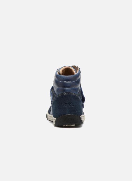 Sneaker Noël Zem blau ansicht von rechts