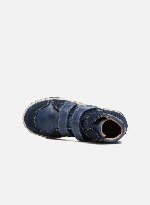 Sneaker Noël Zem blau ansicht von links