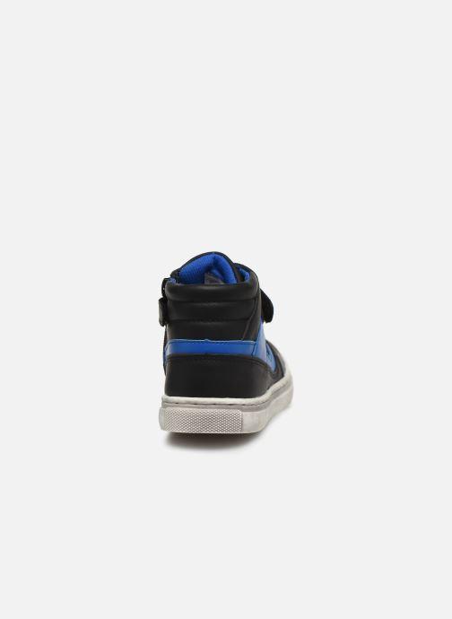 Baskets Mod8 Swan Noir vue droite