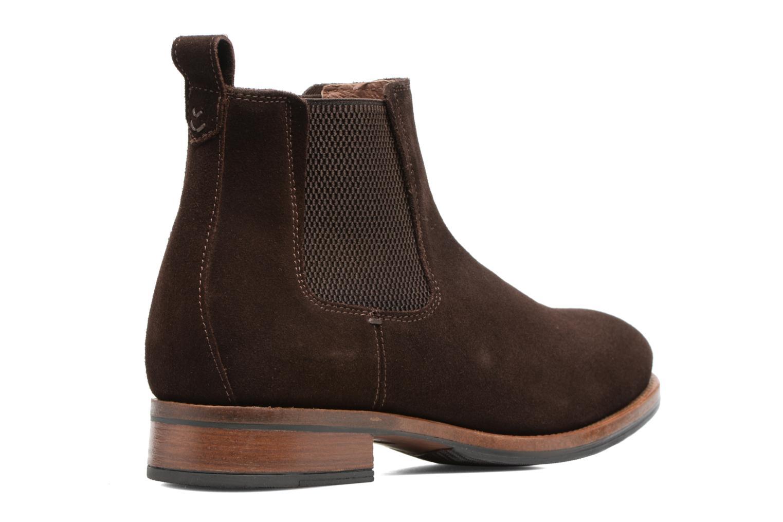 Bottines et boots Mr SARENZA Stasi Marron vue face