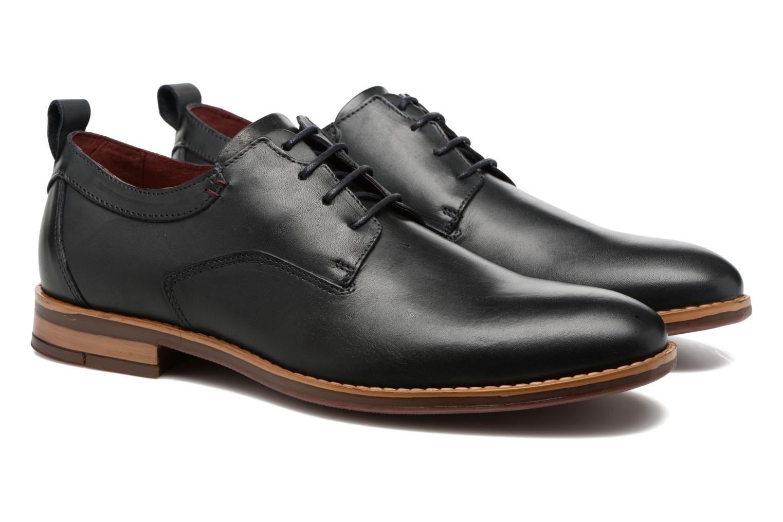 Lace-up shoes Mr SARENZA Scano Blue back view