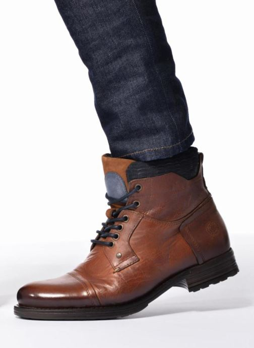 Ankle boots Mr SARENZA Serando Brown view from underneath / model view