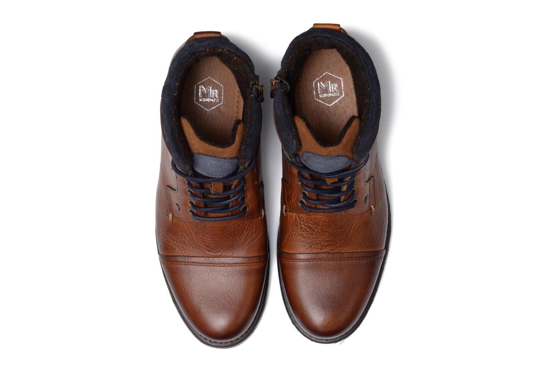 Ankle boots Mr SARENZA Serando Brown model view