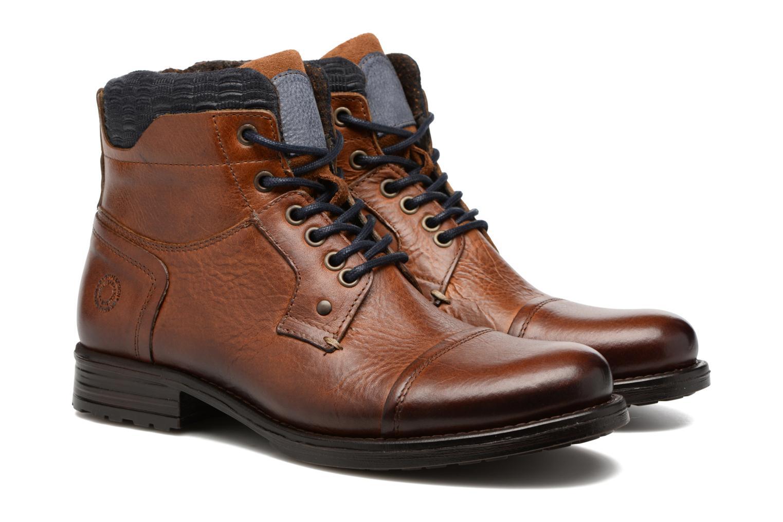 Ankle boots Mr SARENZA Serando Brown back view
