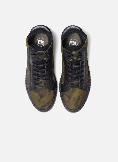 Sneakers Mr SARENZA Sessouflage Verde modello indossato