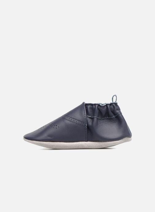 Pantofole Robeez Chic & Smart Azzurro immagine frontale