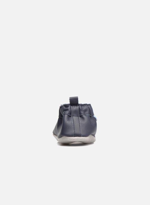 Pantofole Robeez Chic & Smart Azzurro immagine destra