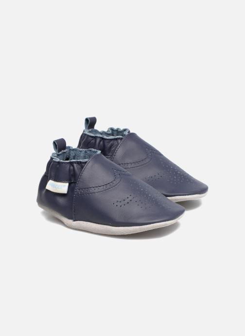 Pantofole Robeez Chic & Smart Azzurro vedi dettaglio/paio