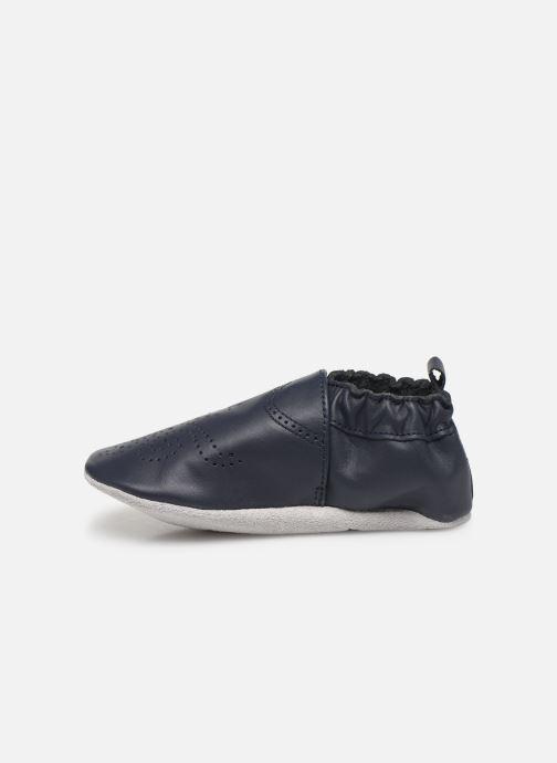 Pantoffels Robeez Chic & Smart Blauw voorkant