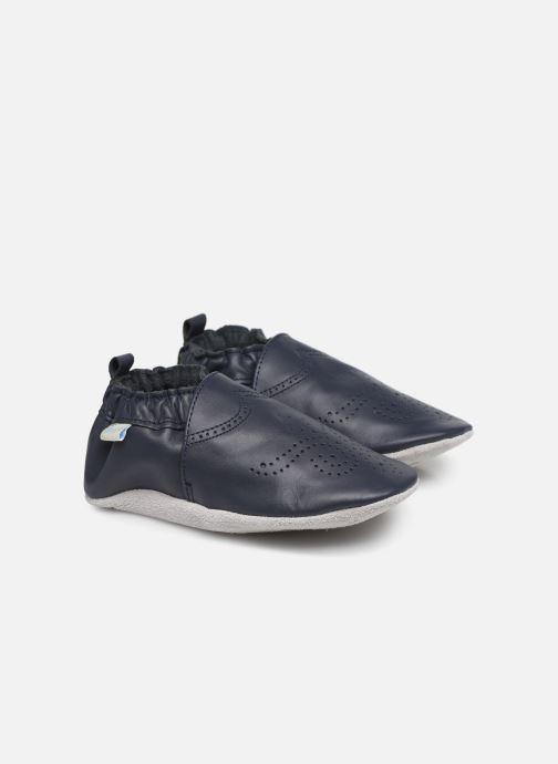 Pantoffels Robeez Chic & Smart Blauw detail