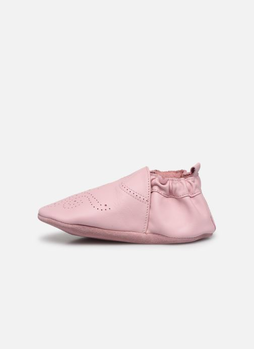 Chaussons Robeez Chic & Smart Rose vue face