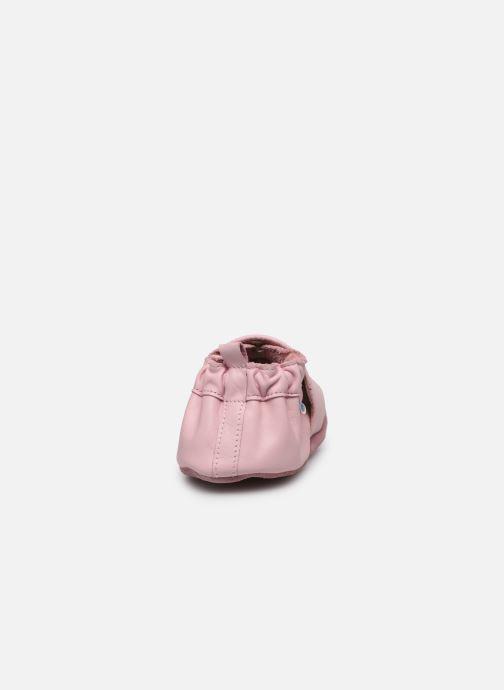 Pantofole Robeez Chic & Smart Rosa immagine destra