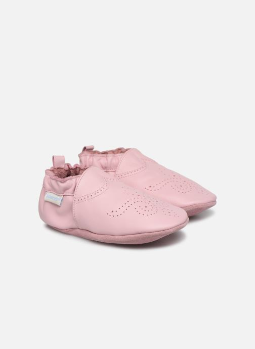 Slippers Robeez Chic & Smart Pink detailed view/ Pair view