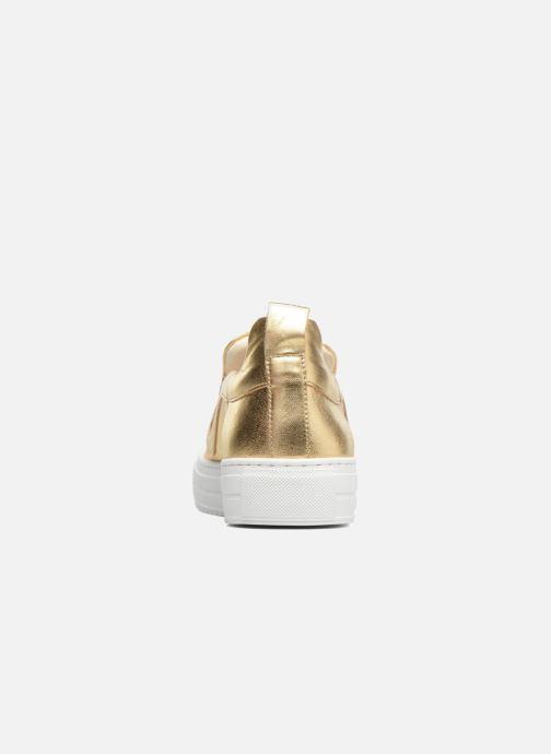 Sneakers Apologie Ice Cream Goud en brons rechts