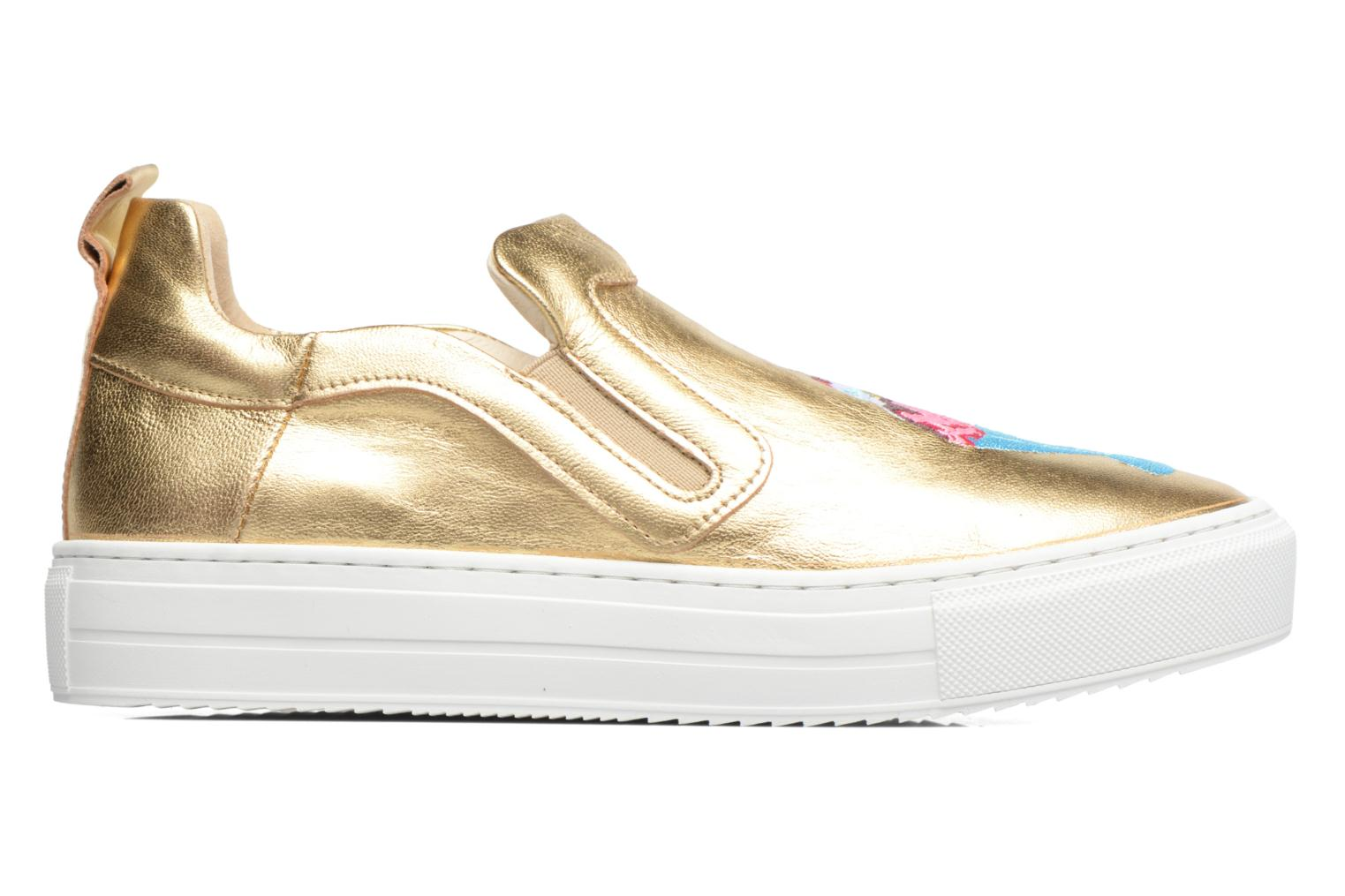 Trainers Apologie Ice Cream Bronze and Gold back view