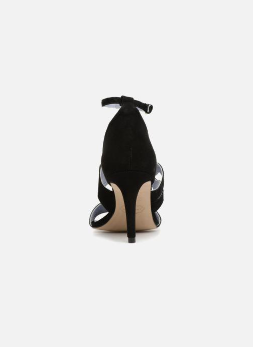 Sandales et nu-pieds Apologie Polo Noir vue droite