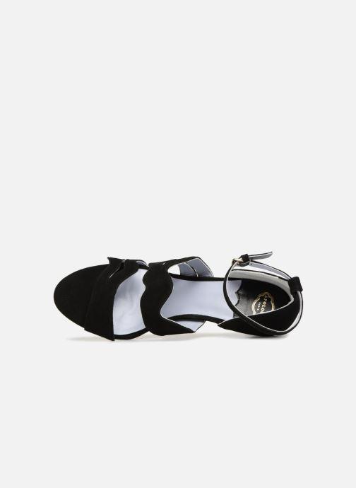 Sandales et nu-pieds Apologie Polo Noir vue gauche