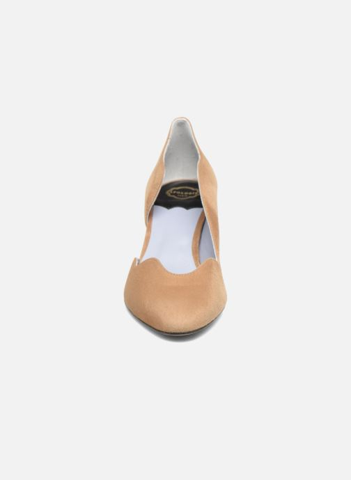 Escarpins Apologie Scarletta Marron vue portées chaussures
