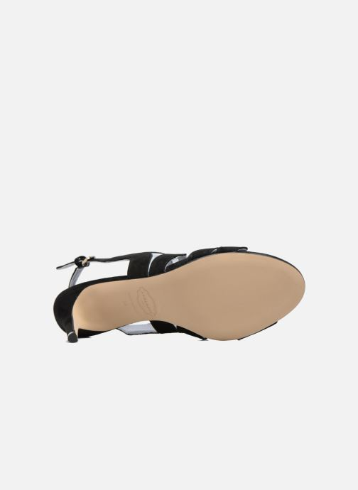 Sandals Apologie Tsunami Black view from above