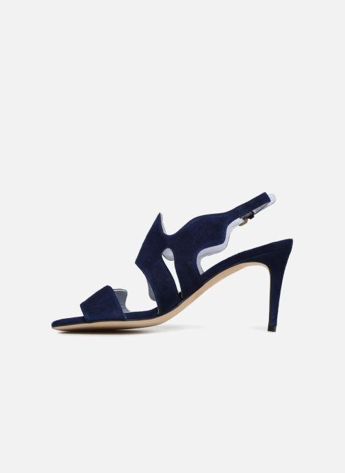Sandales et nu-pieds Apologie Tsunami Bleu vue face